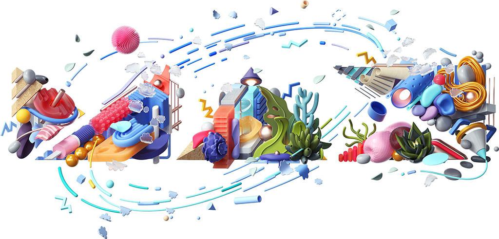 Illustration showing an Adobe MAX logo by Omar Aqil