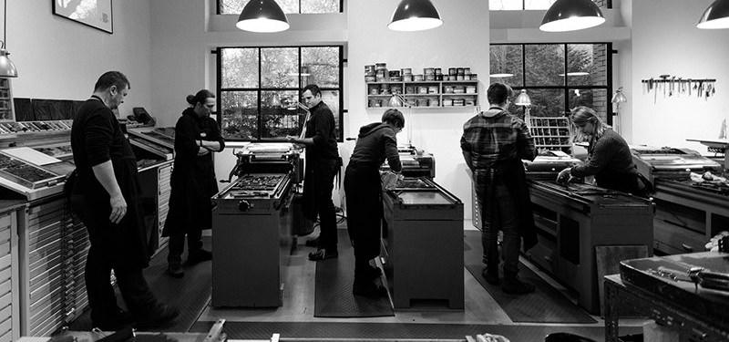 Letterpress Printing at p98a